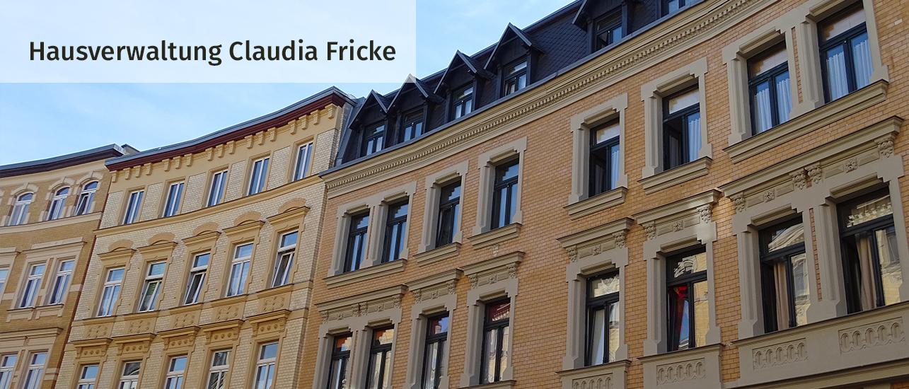 Hausverwaltung Claudia Fricke